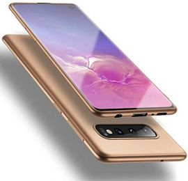 """Auksinės spalvos dėklas Samsung Galaxy G973 S10 """"X-level Guardian"""""""