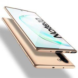 """Auksinės spalvos dėklas Samsung Galaxy N970 Note 10 """"X-level Guardian"""""""