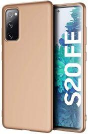 """Auksinės spalvos dėklas Samsung Galaxy S20 FE / S20 Lite """"X-level Guardian"""""""