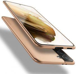 """Auksinės spalvos dėklas Samsung Galaxy S21 FE """"X-level Guardian"""""""