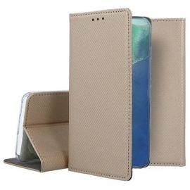 """Auksinis atverčiamas dėklas Samsung Galaxy Note 20 """"Smart Magnet"""""""
