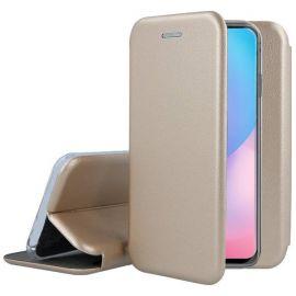 """Auksinis atverčiamas dėklas Xiaomi Poco X3 NFC / X3 Pro """"Book Elegance"""""""
