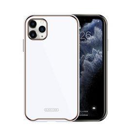 """Baltas dėklas Apple iPhone 11""""Glass Case"""""""