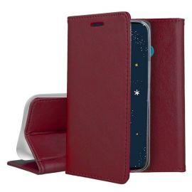 """Bordo atverčiamas dėklas Huawei P30 lite """"Smart Magnetic"""""""
