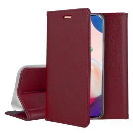 """Bordo atverčiamas dėklas Samsung Galaxy A725 A72 / A726 A72 5G """"Smart Magnetic"""""""