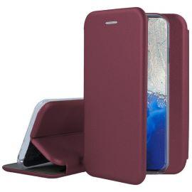 """Bordo atverčiamas dėklas Samsung Galaxy G981 S20 """"Book Elegance"""""""