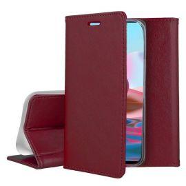 "Bordo atverčiamas dėklas Xiaomi Redmi Note 10 / Redmi Note 10S ""Smart Magnetic"""