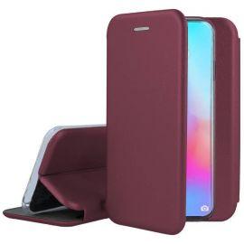 """Bordo spalvos atverčiamas dėklas Huawei P30 Pro """"Book Elegance"""""""