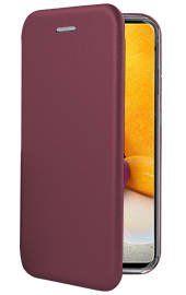 """Bordo spalvos atverčiams dėklas Samsung Galaxy A725 A72 """"Book Elegance"""""""