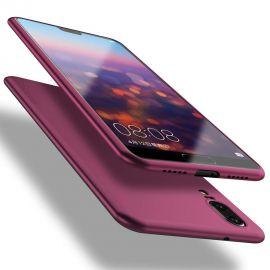 """Bordo spalvos dėklas Huawei P20 """"X-level Guardian"""""""