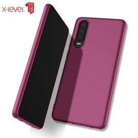 """Bordo spalvos dėklas Huawei P30 """"X-level Guardian"""""""