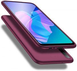 "Bordo spalvos dėklas Huawei P40 Lite E / / Y7 P ""X-level Guardian"""