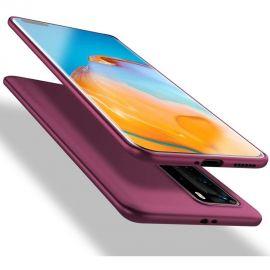 "Bordo spalvos dėklas Huawei P40 Pro ""X-level Guardian"""