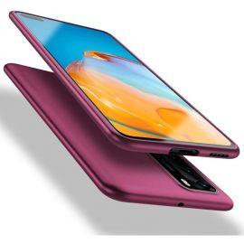 """Bordo spalvos dėklas Huawei P40 """"X-level Guardian"""""""
