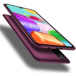 "Bordo spalvos dėklas Samsung Galaxy A025F A02s ""X-level Guardian"""