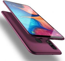 """Bordo spalvos dėklas Samsung Galaxy A202 A20e """"X-level Guardian"""""""