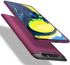"""Bordo spalvos dėklas Samsung Galaxy A805 A80 """"X-level Guardian"""""""