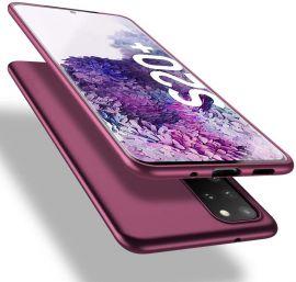 """Bordo spalvos dėklas Samsung Galaxy G986 S20 Plus """"X-level Guardian"""""""