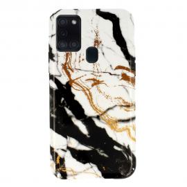 """Design 3 dėklas Samsung Galaxy A217 A21s """"Marble Silicone"""""""
