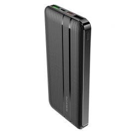 Juoda išorinė baterija Power Bank Borofone BJ9 Type-C PD+Quick Charge 3.0 (3A) 10000mAh