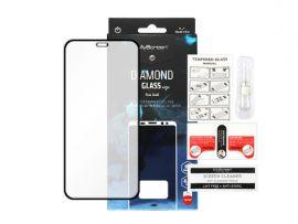 """Juodas apsauginis ekrano stiklas Apple iPhone 12 Pro Max """"MyScreen Diamond Full Glue"""""""