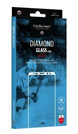 """Juodas apsauginis ekrano stiklas Samsung Galaxy A105 A10 """"MyScreen Diamond Full Glue"""""""