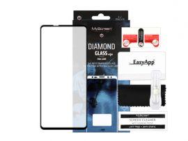 """Juodas apsauginis ekrano stiklas Samsung Galaxy A217 A21s """"MyScreen Diamond Full Glue"""""""