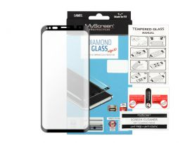 """Juodas apsauginis ekrano stiklas Samsung Galaxy G960 S9 """"MyScreen Diamond Edge 3D"""""""