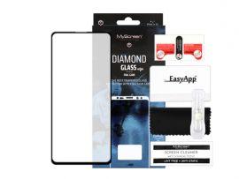 """Juodas apsauginis ekrano stiklas Samsung Galaxy N770 Note 10 Lite / A81 """"MyScreen Diamond Full Glue"""""""