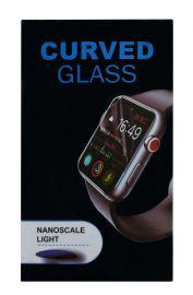 Juodas apsauginis ekrano stikliukas Apple Watch 44mm