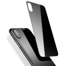 """Juodas apsauginis grūdintas stiklas galiniam dangteliui Apple iPhone X / XS """"MyScreen Lite Edge Full Glue"""""""