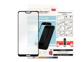 """Juodas apsauginis stikliukas Huawei P20 Lite """"MyScreen Lite Edge Full Glue"""""""
