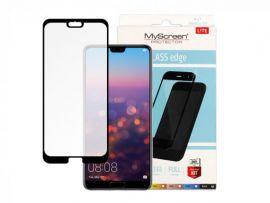 """Juodas apsauginis stikliukas Huawei P20 Pro """"MyScreen Lite Edge Full Glue"""""""