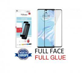 """Juodas apsauginis stikliukas Huawei P30 """"MyScreen Lite Edge Full Glue"""""""