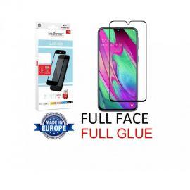 "Juodas apsauginis stikliukas Samsung Galaxy A405 A40 ""MyScreen Lite Edge Full Glue"""