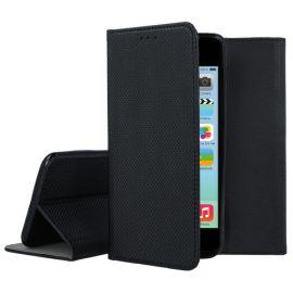 """Juodas atverčiamas dėklas Apple iPhone 5 / 5S """"Smart Magnet"""""""