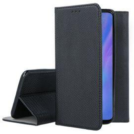 """Juodas atverčiamas dėklas Huawei P30 Pro """"Smart Magnet"""""""