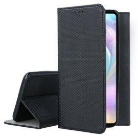 """Juodas atverčiamas dėklas Huawei P30 """"Smart Magnet"""""""