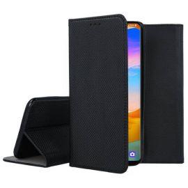 """Juodas atverčiamas dėklas LG Velvet """"Smart Magnet"""""""