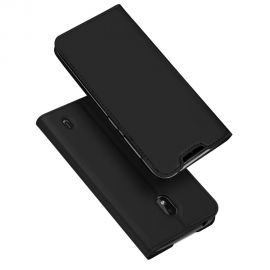"""Juodas atverčiamas dėklas Nokia 2.2 """"Dux Ducis Skin Pro"""""""