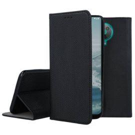 """Juodas atverčiamas dėklas Nokia G20 """"Smart Magnet"""""""