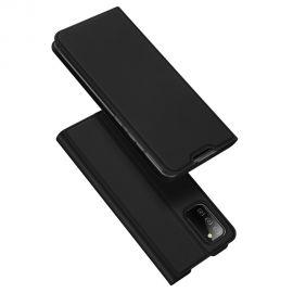 """Juodas atverčiamas dėklas Samsung Galaxy A025 A02s """"Dux Ducis Skin Pro"""""""