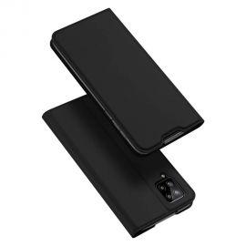 """Juodas atverčiamas dėklas Samsung Galaxy A125 A12 / M127 M12 """"Dux Ducis Skin Pro"""""""