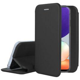 """Juodas atverčiamas dėklas Samsung Galaxy A225 A22 4G """"Book Elegance"""""""