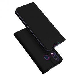 """Juodas atverčiamas dėklas Samsung Galaxy A405 A40 """"Dux Ducis Skin Pro"""""""