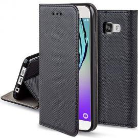 """Juodas atverčiamas dėklas Samsung Galaxy A510F A5 2016 """"Smart Magnet"""""""