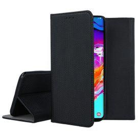 """Juodas atverčiamas dėklas Samsung Galaxy A705 A70 """"Smart Magnet"""""""