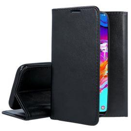 """Juodas atverčiamas dėklas Samsung Galaxy A705 A70 """"Smart Magnetic"""""""