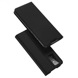 "Juodas atverčiamas dėklas Samsung Galaxy A725 A72 / A726 A72 5G ""Dux Ducis Skin Pro"""