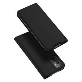 """Juodas atverčiamas dėklas Samsung Galaxy A826 A82 5G / Quantum 2 """"Dux Ducis Skin Pro"""""""